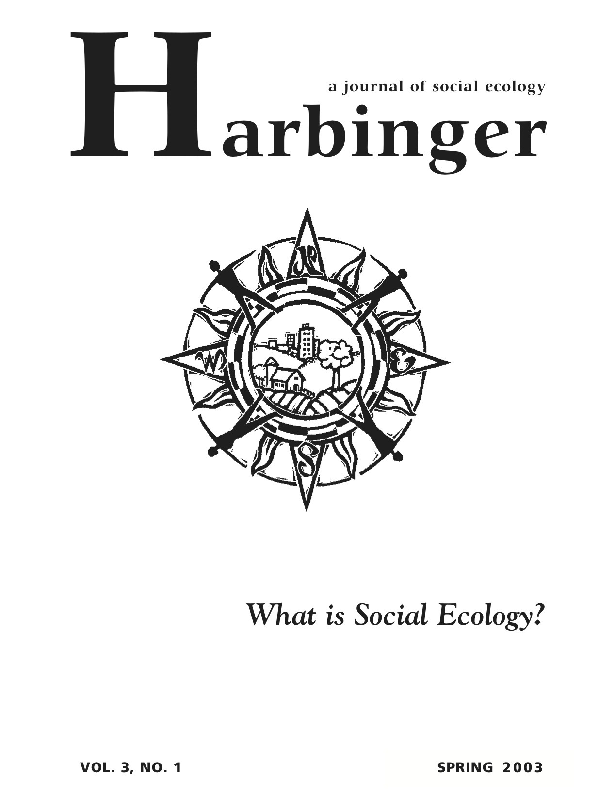 harbinger vol no the communalist project institute for harbinger
