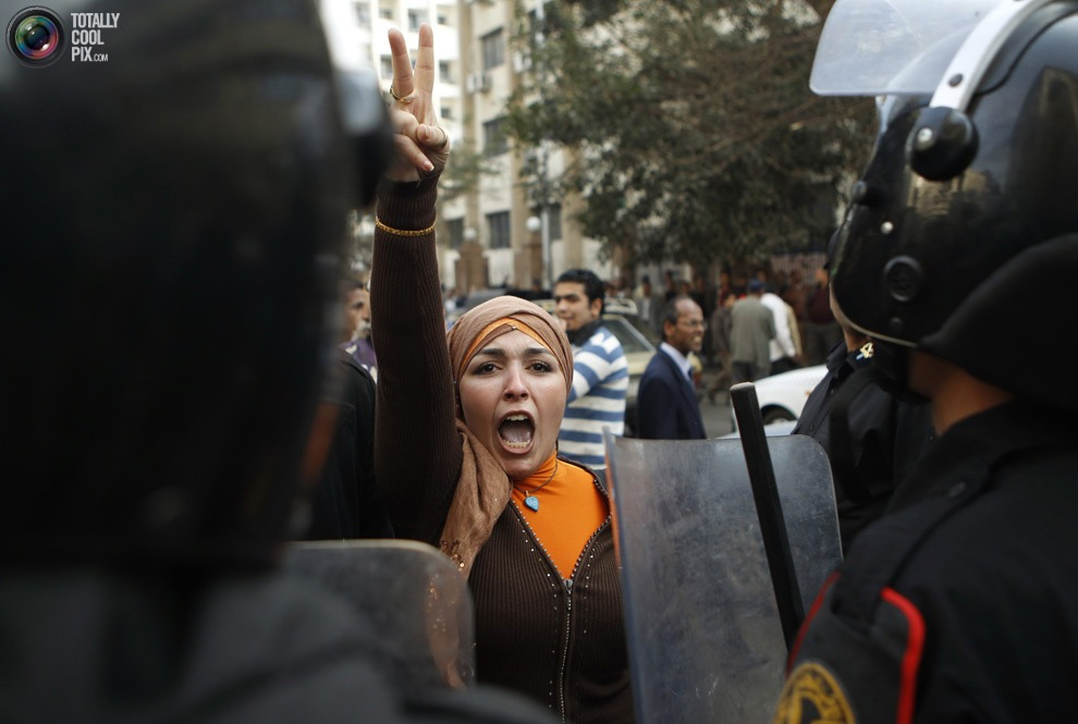 The Egypt Protests