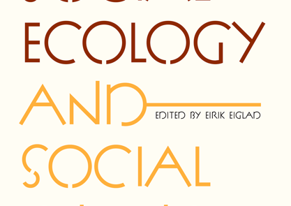 New book: Social Ecology and Social Change