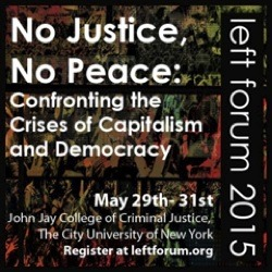 Social ecologists at Left Forum 2015 in NYC